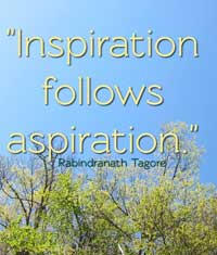 Tagore on inspiration